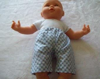 garment, bermuda shorts for infants or dolls of 36 cm
