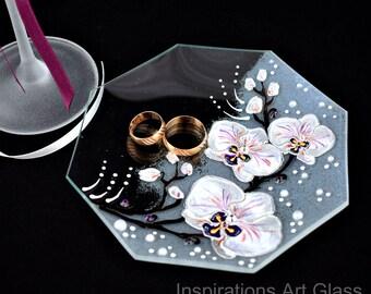 Ring dish, Ring holder, Glass ring dish, Jewelry dish, Wedding ring dish, Jewelry Storage, Engagement gift