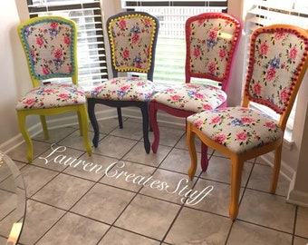 The Janice Set - Dining Chairs