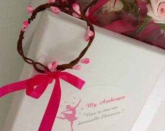 Berry branch bridesmaid bracelet