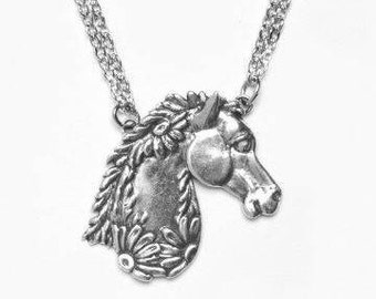 "Spoon Necklace: ""Horse"" by Silver Spoon Jewelry"