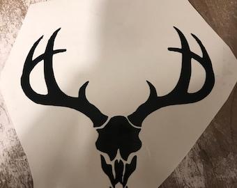 Dear skull  vinyl sticker