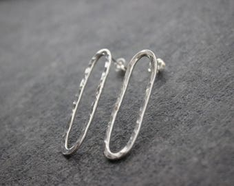 Basic Ovular Studs (sterling silver)