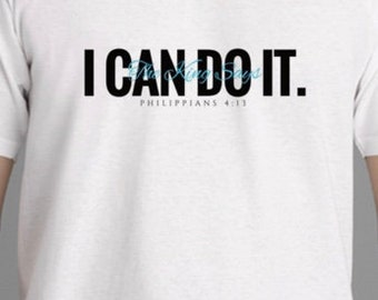 The King Says...I CAN DO IT Ladies t-shirt