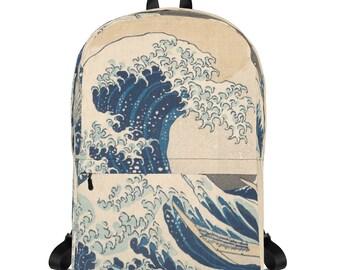 Great Wave of Kanagawa, Hokusai - Backpack