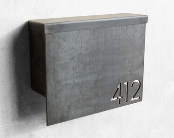 The Gibson Mailbox - Custom - Steel Modern Metal Letter Box