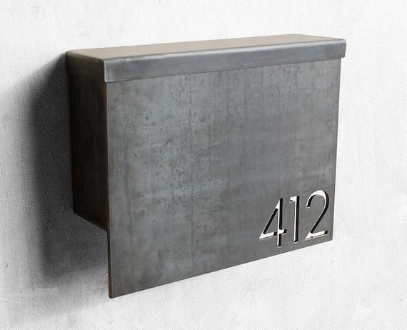custom metal mailbox. Delighful Mailbox With Custom Metal Mailbox