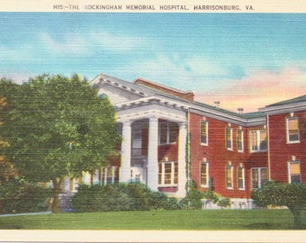 Harrisburg, Virginia, Rockingham Memorial Hospital - Vintage Postcard - Postcard - Unused (Q)