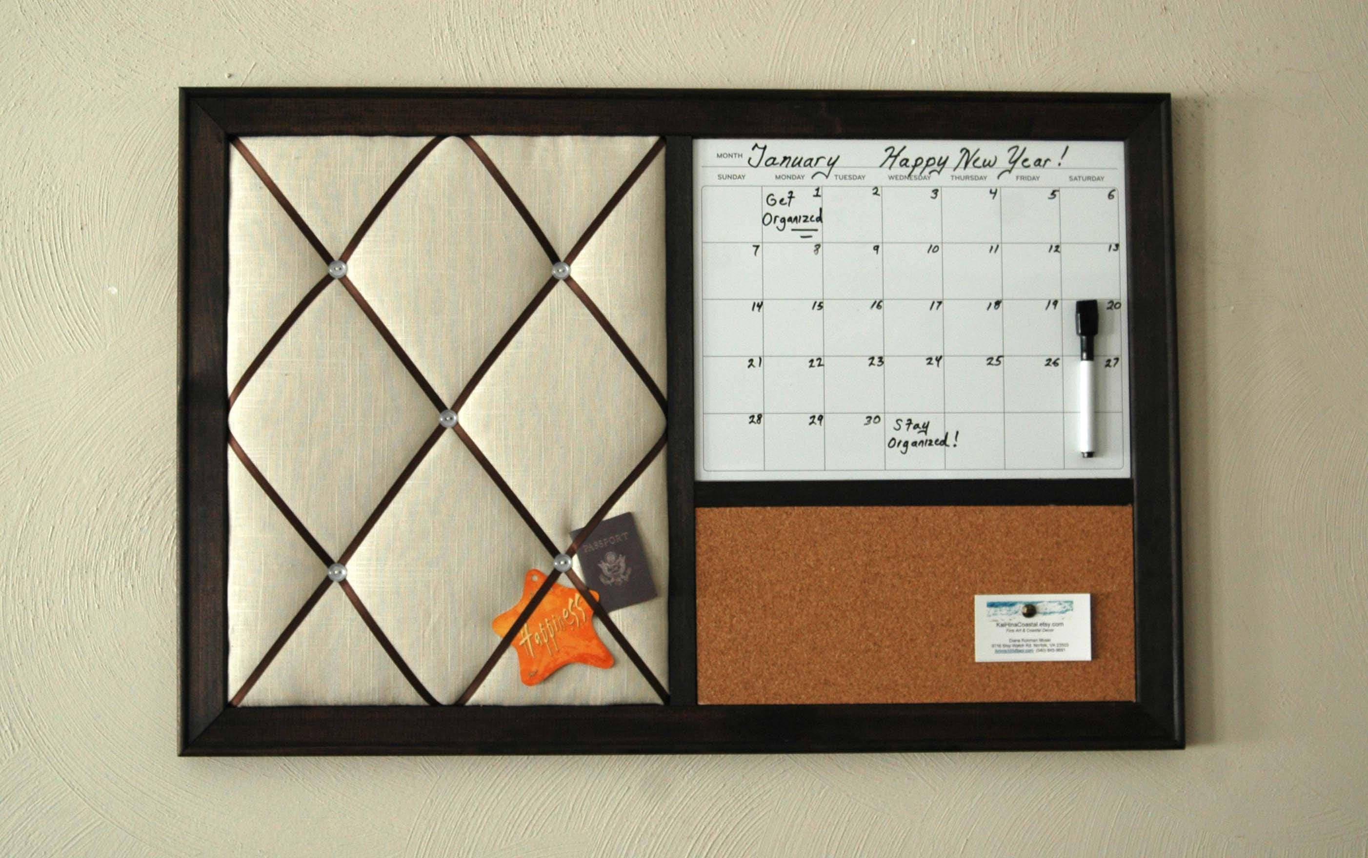 Trocken löschen Kalender Pinnwand Französisch Memoboard