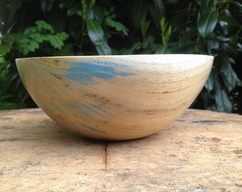 Colorful Acacia Bowl