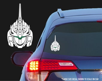 Gundam Unicorn [Unicorn Mode] - RX-0 Vinyl Decal for Cars, Laptops, Tablets, Water Bottles, Etc. - Mobile Suit Gundam Unicorn