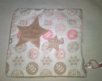 Handmade flat plush 22 x 21 soft