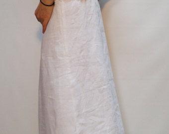 Summer Dress/Long Linen Dress/ Long Casual Dress/Black Linen Dress/ Beach Dress/Dress with Naked Back/Hooded Dress/F1456