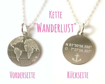Necklace ~ Wanderlust ~ 925 silver