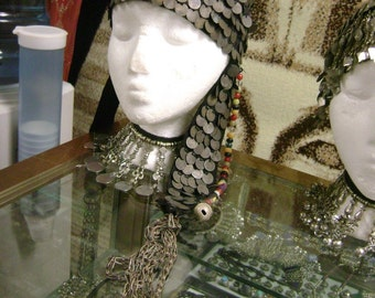 Antique Old  Bedouin Hair Covering From Egypt