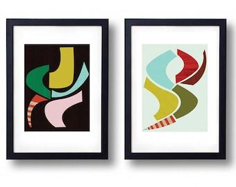 Giclée Print Set - Snakes on a plane