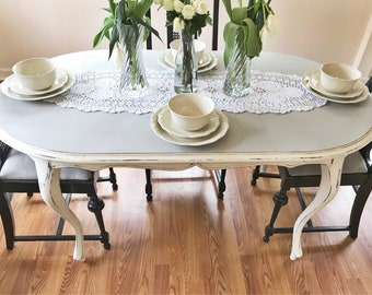 French dining table etsy sold can make custom french provincial dining table french country dining table workwithnaturefo