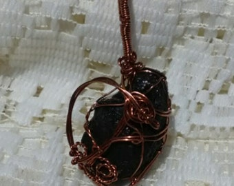 Black Tourmaline wrap