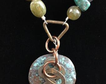 Rusty Keys Necklace