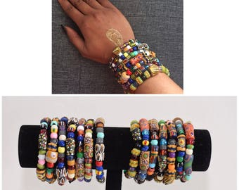 product strand multi original colorful beaded bracelet rainbow