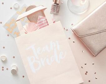 Team Bride Party Bag - Hen Party Gift Bag - Hen Party Goody Bag - Bridal Shower Party Bag - Bachelorette Gift Bag