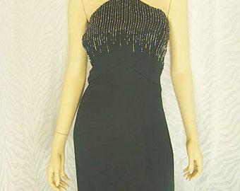 Michaelangelo Black Evening Gown
