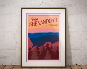 Shenandoah   National Park Series   Instant Download