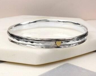 Athena Fidget Bracelet, Anxiety Bracelet, Anxiety Jewelry, Anxiety, Meditation Bracelet, Meditation Jewelry, Spinner Bracelet, Spin Bangle