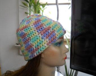 NEW, Handmade, YOUTH Crocheted, Winter Hat