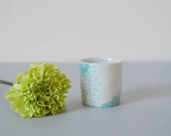 Tiny porcelain pot
