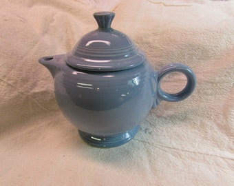 Fiesta Periwinkle Blue Tea Pot