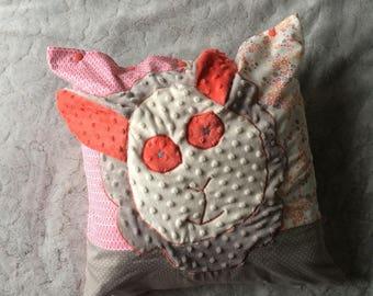 Pillow / cushion fancy - sheep - handmade