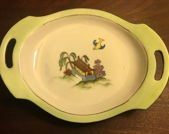Vintage Nippon Candy & Nut Dish