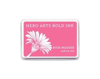 Hero Arts: AF386 Rose Madder Bold Ink,  scrapbooking, paper crafting, paper crafting, a2z scrapbooking, full ink pad