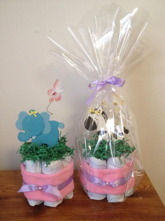 Baby Animal Mini Diaper Cakes, Jungle Baby Shower, Safari Baby Shower, Zoo Animals, Diaper Cakes Safari Animal, Baby Washcloths, Zebra, Lion