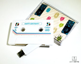 Birthday Gift Mixtape! USB Flash Drive 4/8GB