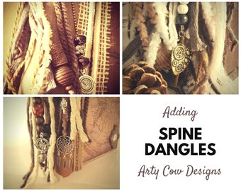 Spine Dangles - Personalise, customise