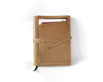 YOUR MEMORIES = Leather bound journal
