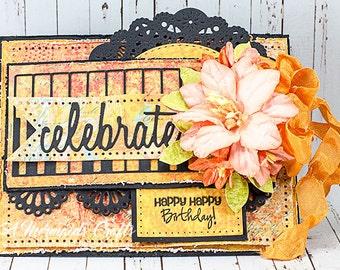 Celebrate Happy Birthday Greeting Card