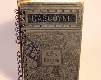 GASCOYNE Handmade Journal Vintage Upcycled Book Vintage Novel