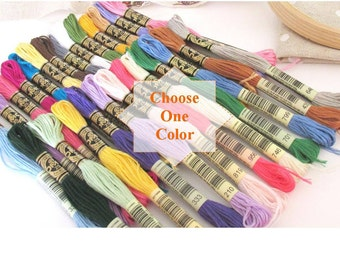 DMC Thread by Skein  - Made in France -  Original DMC - 456 available colors