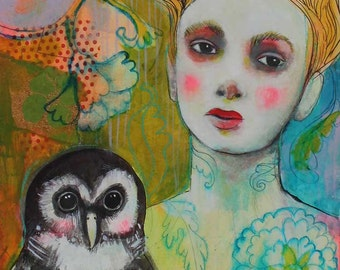 Soar With Your Own Wings -ACEO  Open edition reproduction by Maria Pace-Wynters