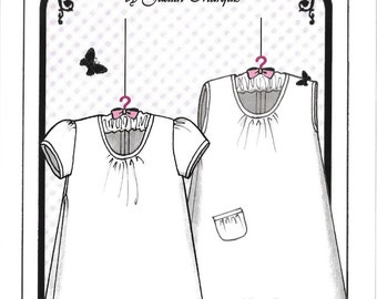 Baby's Breath Smocked Baby Bunting Pattern by Judith