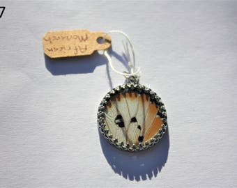 African Monarch Butterfly Necklace