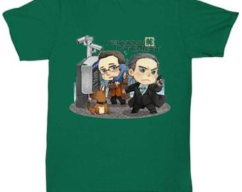 Person of Interest T-Shirt Green
