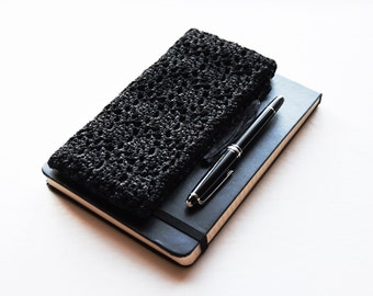 Slim Pencil Case, Back to School Gifts for Teachers, Black Pencil Case, Slim Pen Case, Stationary Case, Zippered Pencil Case, Pencilcase