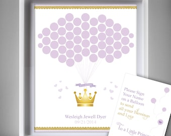 Baby Shower Guest Book Diy ~ Princess guest book etsy