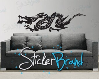Vinyl Wall Art Decal Sticker Chinese Dragon 486A