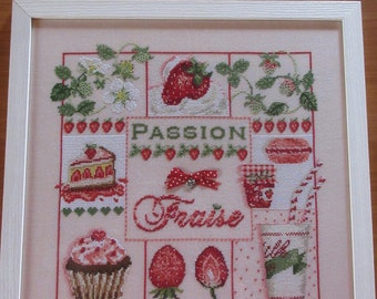 Painting PASSION FRAISE