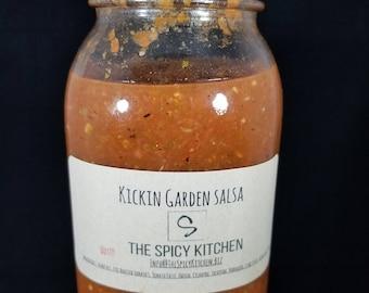 Kickin Garden Salsa